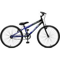 Bicicleta Master Bike Aro 24 Masculina Ciclone Azul