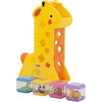 Brinquedo De Encaixar Girafa Pick-A-Blocks - Unissex-Incolor