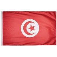 Bandeira Tunísia Torcedor 2 Panos