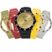 Relógio Champion Troca Pulseiras Cp38086R77807 Feminino - Feminino-Preto