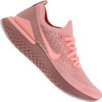 Tênis Nike Epic React Flyknit 2 - Feminino - Rosa