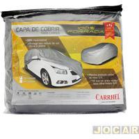 Capa De Carro - Carrhel - Pequena - Impermeável - 100% Forrada - Com Cadeado - Cada (Unidade) - 281