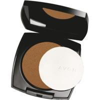 Pó Compacto Avon Ideal Face 11G - Caramelo - Feminino