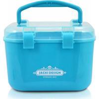 Caixa Organizadora (P) Jacki Design Organizadores Azul - Kanui