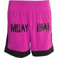 Shorts Kanxa Fighters Muay Thai - Masculino