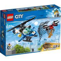 Lego City - Patrulha Aérea Com Drone Lançador - 60207 Lego 60207