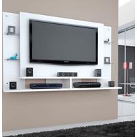 Painel Para Tv 1.8 Domínio Branco Caemmun