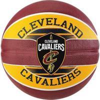 Bola De Basquete Spalding Nba Cleveland Cavaliers Team - Unissex