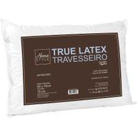 Travesseiro True Latex 42 Cm X 62 Cm - Home Style