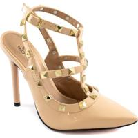 Scarpin Spikes Numeração Especial Sapato Show 1480395