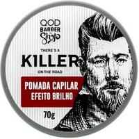 Pomada Killer Efeito Brilho Qod | Qod Barber Shop | 70G