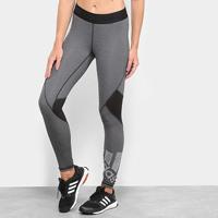 Calça Legging Adidas Ask L Bos Feminina - Feminino-Preto