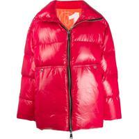 Khrisjoy Oversized Padded Coat - Vermelho