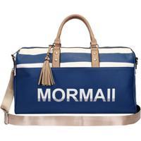Bolsa De Viagem Mormaii Feminina - Feminino-Azul