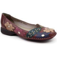 Sapato Retro J Gean Da0076 Vermelho