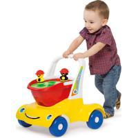 Carrinho Merco Toys Bebê Passeio Didático Multicolorido - Tricae