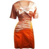 Conjunto Feminino Vestido Com Bolero