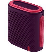 Caixa De Som Pulse Mini Bluetooth/Sd/P2 10W Rms Roxo E Rosa - Sp239