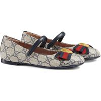 Gucci Kids Sapatilha Gg Supreme - Neutro
