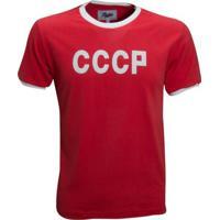Camisa Liga Retrô Cccp 1970 (União Soviética) - Masculino