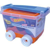 Carrinho De Praia Hot Wheels Fun Divirta-Se