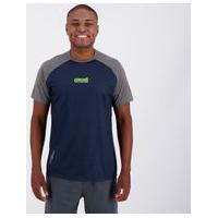 Camiseta Ecko Active Marinho E Cinza