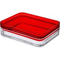 Porta Frios Mod Cristal Com Vermelho Coz