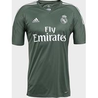 Camisa Real Madrid Goleiro 17/18 - Torcedor Adidas Masculina - Masculino