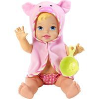 Boneca Little Mommy - Momentos Do Bebê - Hora Do Banho - Mattel - Feminino-Incolor