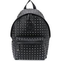 Philipp Plein Studded Backpack - Preto