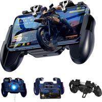 Joystick Controle Gamepad Com Cooler R1L1 Pubg Mobile Free Fire H5