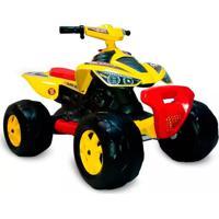 Quadriciclo Elétrico 12V Amarelo - Bandeirante - Tricae