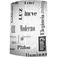 Arandela Calha Jornal