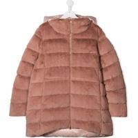 Herno Kids Padded Hooded Coat - Rosa