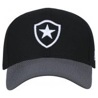 039a4ad606757 Boné New Era Botafogo - Snapback - Adulto - Preto Cinza