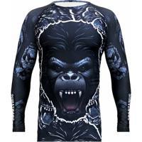 Camiseta Rash Guard Gorilla Spartanus Fightwear - Masculino