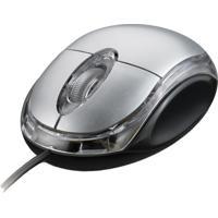 Mouse Óptico Multilaser Mo061 Classica Ps/2 Preto E Prata