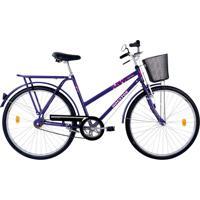 Bicicleta Houston Onix Fv Aro 26 Roxo