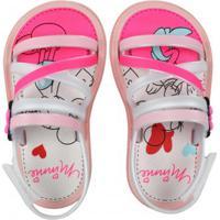 Sandália Infantil Grendene Minnie Hearts