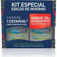 Kit Creme Hidratante Corporal Cetaphil 453G 2 Unidades