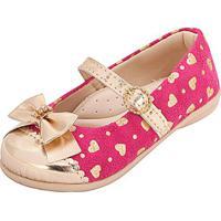 Sapatilha Infantil Plis Calçados - Feminino-Pink