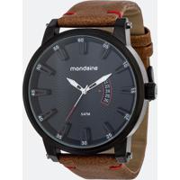 Relógio Masculino Mondaine 76554Gpmvph4 Analógico 5Atm