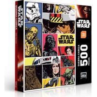 Quebra-Cabeça Star Wars - 500 Peças - Toyster - Disney - Masculino-Incolor