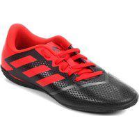 Chuteira Adidas Artilheira Iv Futsal - Preta E Vermelha