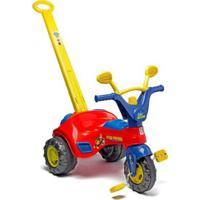 Triciclo De Passeio Patrulha Canina Cotiplás Cotiplas - Unissex-Incolor