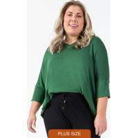 Blusa Feminina De Tricot Verde