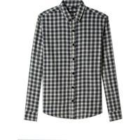 Camisa John John Moneytown Algodão Xadrez Masculina (Xadrez, P)