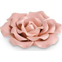 Flor Decorativa- Rosa- 5X13X13Cm- Martmart