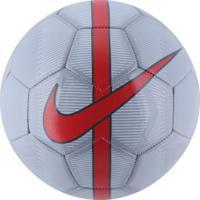 8b4db550e8a37 Bola De Futebol De Campo Nike Mercurial Fade Fa16 - Cinza Vermelho