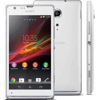 "Smartphone Sony Xperia Sp Branco - 16Gb - 8Mp - Tela 4.6"" - Android 4.3"